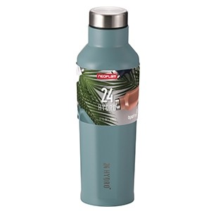 Neoflam 500ml 24 Hydro Stainless Steel bottle in Ocean Mint - Double walled and vacuum insulated