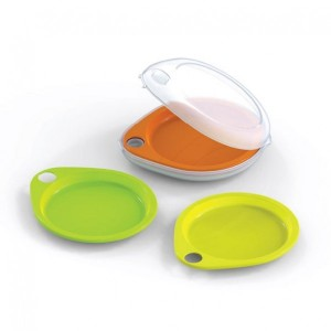Neoflam Droplet Plate Picnic Set (includes 5 plates
