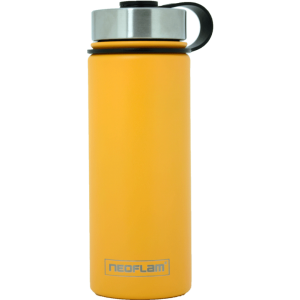 Neoflam Stainless Steel 500ml Double walled and vacuum insulated, powder coat - Golden Yellow