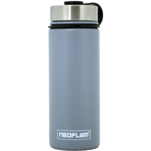 Neoflam Stainless Steel 500ml Double walled and vacuum insulated, powder coat - Gray