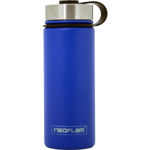 Neoflam Stainless Steel 500ml Double walled and vacuum insulated, powder coat - Sky Blue