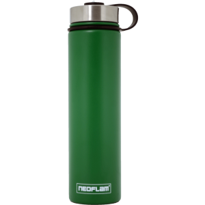 Neoflam Stainless Steel 750ml Double walled and vacuum insulated, powder coat - Green Jade
