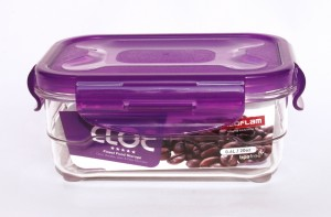 Neoflam CLOC TRITAN Vacuum Container  Rectangle 600ml - BPA Free