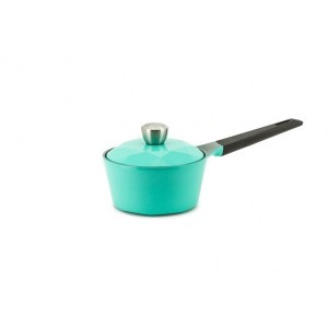 Neoflam Carat - 18cm Sauce Pan Mint Induction with Die Casted Lid