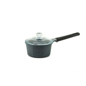 Neoflam Marble - 18cm Sauce Pan 2.0L Induction with Glass Lid