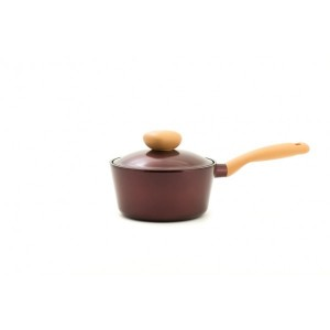 Neoflam Retro Jewel - 18cm Sauce pan 1.8L Red Ruby Induction with Die-Casted Lid